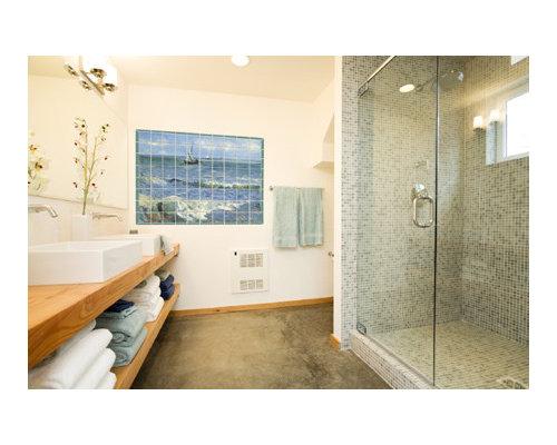 coastal bathroom ideas houzz