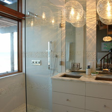 Contemporary Bathroom by Amanda Webster Design