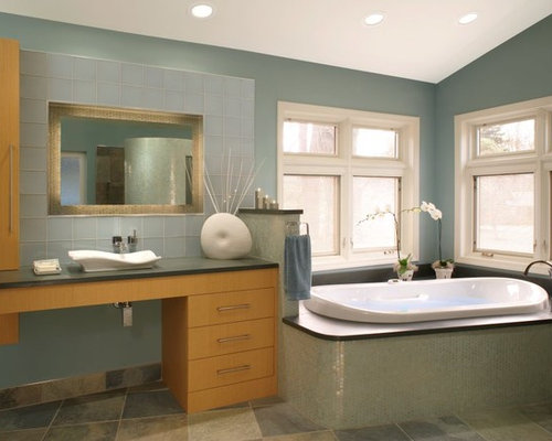seafoam green bathroom design ideas, remodels & photos