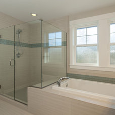 Transitional Bathroom by Wholesale Flooring Services