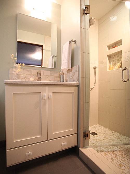 Small master bath home design ideas pictures remodel and for Bathroom remodel seattle