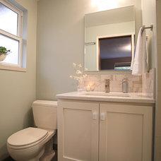 Contemporary Bathroom by Nip Tuck Remodeling