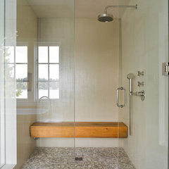 contemporary bathroom by Laura Bohn Design Associates
