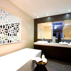 contemporary bathroom by Orbit Homes