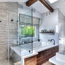 Beach Style Bathroom by SC Homes