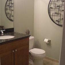 Contemporary Bathroom by Chartreuse Design, Ltd.