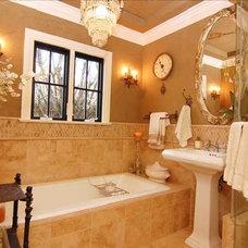 Traditional Bathroom by Seana Stockton Interiors