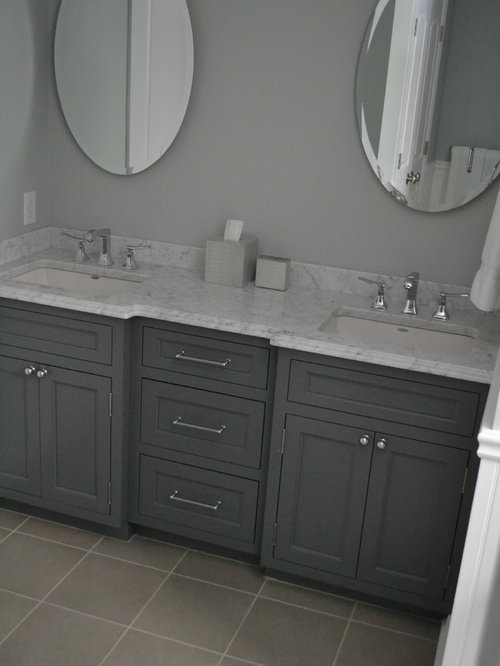 Transitional martha stewart vanity bath design ideas for Martha stewart bathroom designs