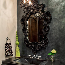 Eclectic Bathroom by Design Studio2010, LLC
