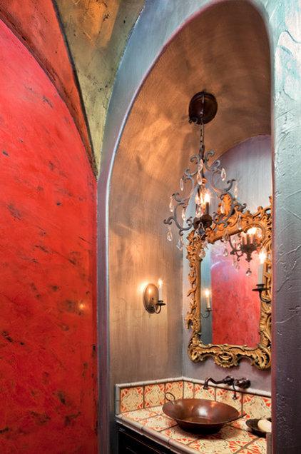 Eclectic Bathroom by Design Studio2010, LLC