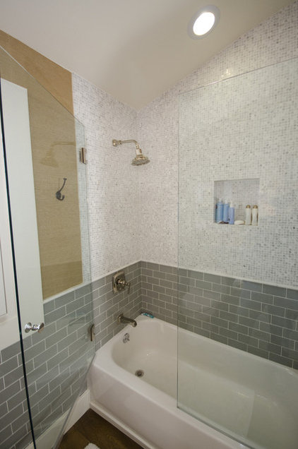Eclectic Bathroom by Stonebrook Design Build