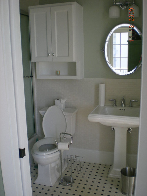 Cabinet Over Toilet With Mirror Home Design Ideas, Pictures, Remodel and Decor