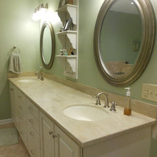 Eclectic Bathroom by Counter Dimensions