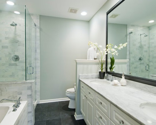 10k 8 x 10 bathroom design ideas remodel pictures houzz for Bathroom 8 x 8 layouts