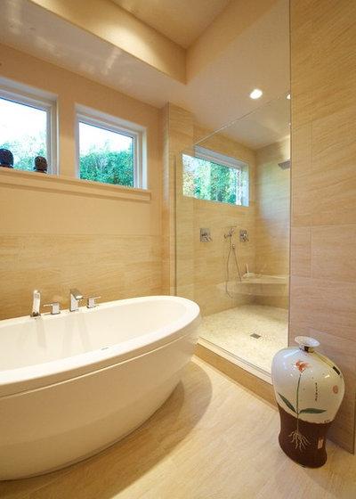 Contemporary Bathroom by Shelburne Development