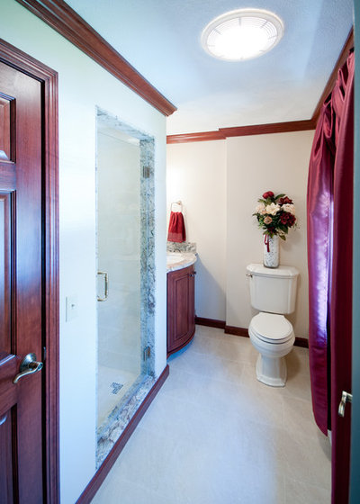 Traditional Bathroom by INSPERIORS, LLC