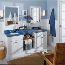 Beach Style Bathroom by Seifer Kitchen Design Center