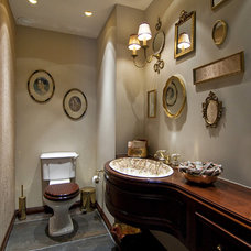 Traditional Bathroom by Neslihan Pekcan/Pebbledesign