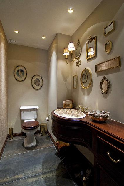 Traditional Bathroom by Neslihan Pekcan/Pebbledesign