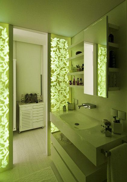 Contemporary Bathroom by Neslihan Pekcan/Pebbledesign