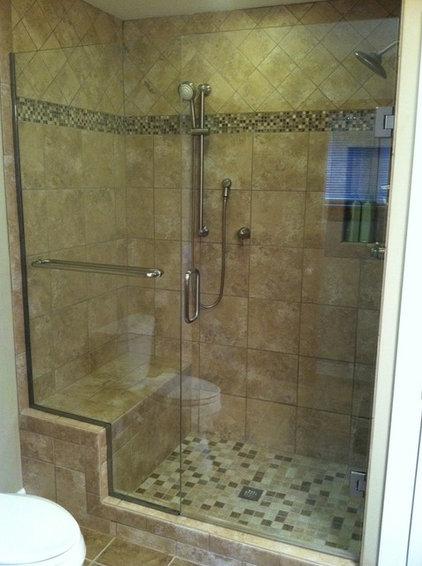 Traditional Bathroom by Guardian InGlass