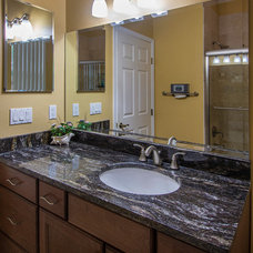 Traditional Bathroom by Lindross Remodeling