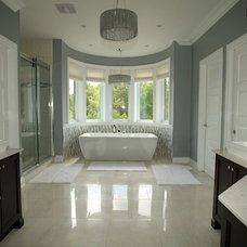 Traditional Bathroom by Rebecca Mitchell Interiors & Boutique