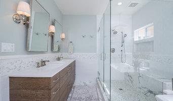 Serene Marble Master Bathroom