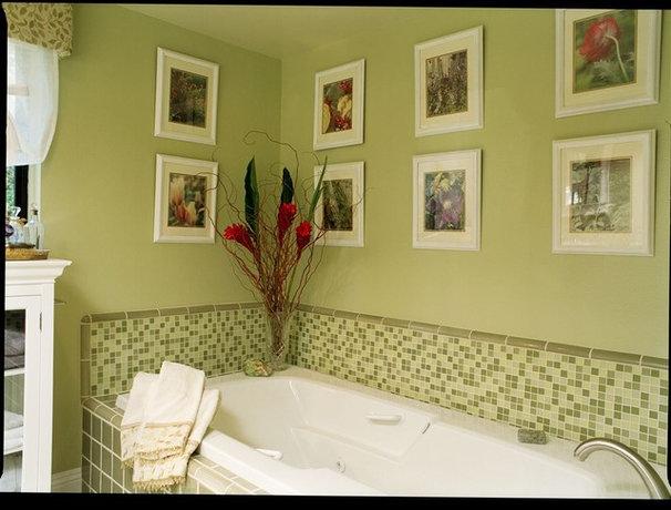 Contemporary Bathroom Serene Master Bath