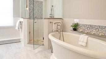 Serene Master Bath Makeover