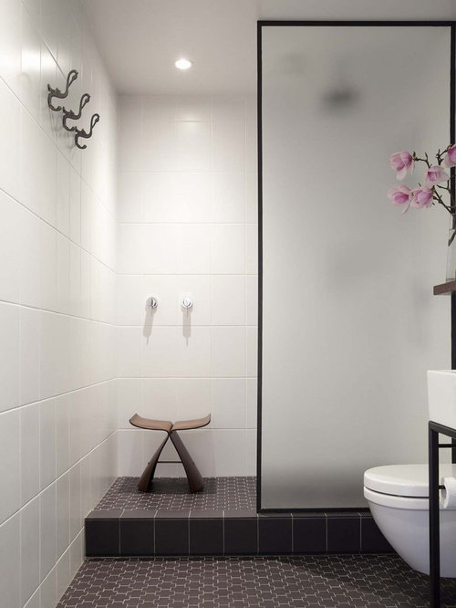 Auckland Bathroom Design Ideas, Renovations amp; Photos with a Curbless
