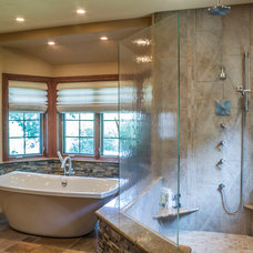 Eclectic Bathroom by Past Basket Design