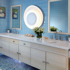 Contemporary Bathroom by Sarah Barnard Design