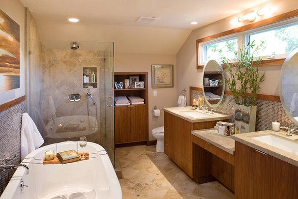 Contemporary Bathroom by Susan Jay Design