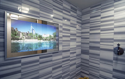 Show Off Your TV: Electronics are Here to Stay.  Why Hide Them?