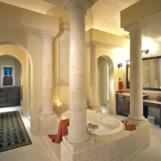 Traditional Bathroom by Jon Luce Builder