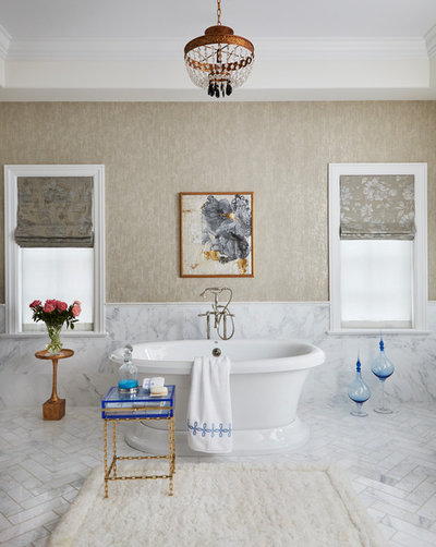 Beautiful Traditional Bathroom by Buckingham Interiors Design LTD