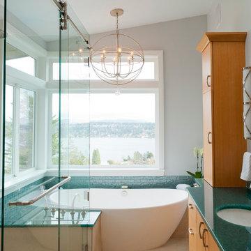 Seward Park Aerie - Master Bath