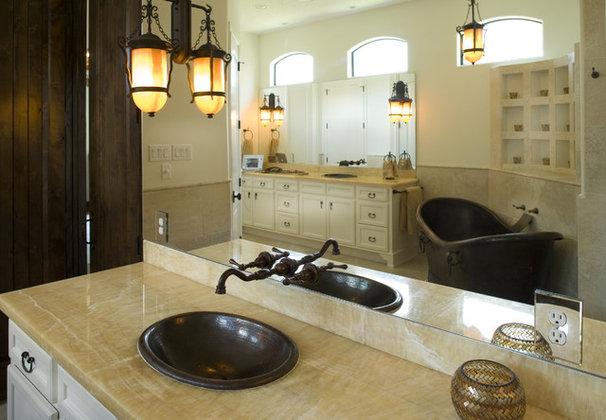 Mediterranean Bathroom by Hann Builders