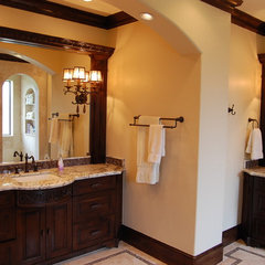 traditional bathroom by Hann Builders