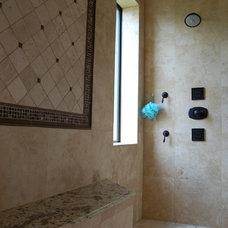 Bathroom by Hann Builders