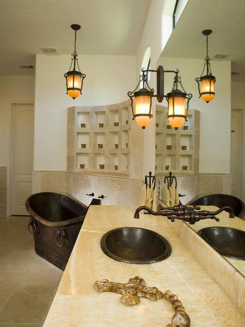 Elegant Guest Bathroom All New Fixtures Marble Counters Custom Framed