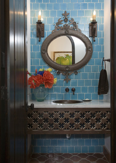 beautiful mediterranean bathrooms houzz flip 102 eye popping powder rooms