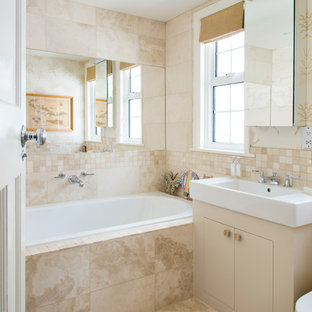 Design ideas for a classic bathroom in Surrey.