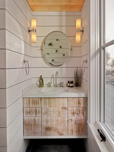Italian Farmhouse Bath Houzz Flip 102 Eye Popping Powder Rooms