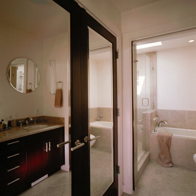 Warm up your bathroom with heated floors for Bathroom design consultant
