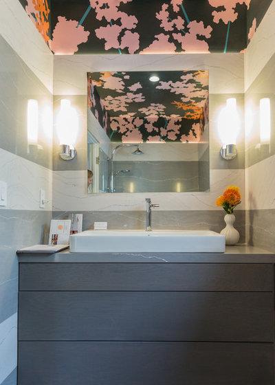 Modern Bathroom by Lauren Edith Andersen, Photographer