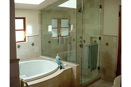Mediterranean Bathroom by SFJones Architects, Inc.