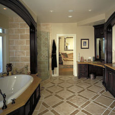Mediterranean Bathroom by SFJones Architects, Inc.