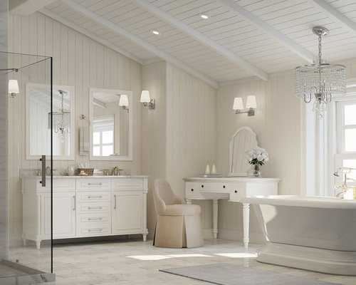 Inspiration For A Transitional Bathroom Remodel In Other. Save Photo. The Home  Depot